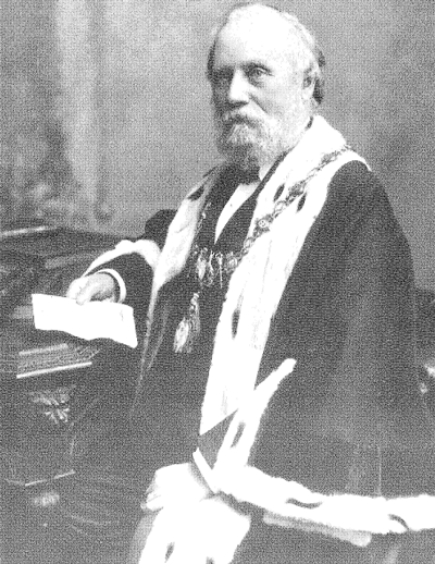 Alderman Reuben Farley, first President of West Bromwich Permanent Benefit Building Society